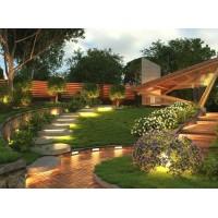 Садово-парковое освещение: прожекторы Led, уличные светильники, фасадные светильники.