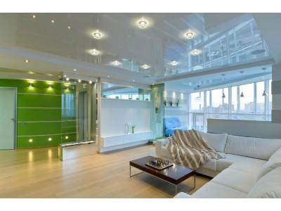Точечные и встроенные светильники в интерьере квартиры: достоинства и виды