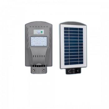 Светильник уличный LED с солнечной панелью SL-20W-6000K-SOLAR