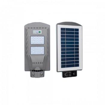 Светильник уличный LED с солнечной панелью SL-40W-6000K-SOLAR