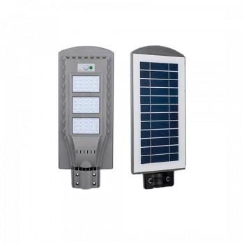 Светильник уличный LED с солнечной панелью SL-60W-6000K-SOLAR