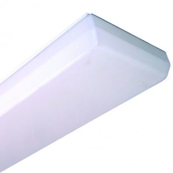 Светильник люминесцентный SM 01-2x18 опал